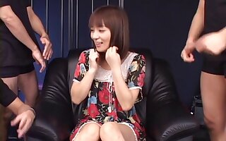 Kinky Japanese babe Akane Mochida loves getting their way holes stretched