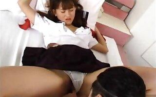 Mika Machida Asian teen enjoys sex