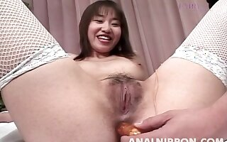 Nice tits Japanese cutie Mayu Yagihara moans during nice sex