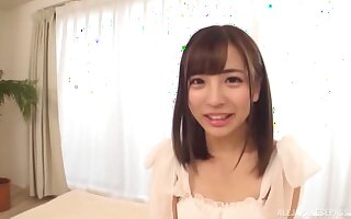 For this sexy brunette Sazanami Aya nothing is better than hard sex