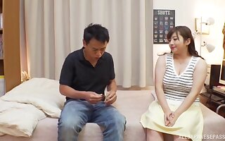 Nice love making in the bedroom with chubby babe Nakamura Tomoe