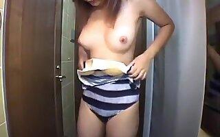 bikini girl washing up part 1