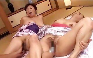 Fabulous Amateur video with Mature, Asian scenes