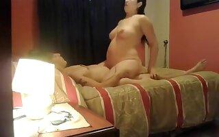 Exotic Amateur clip with Big Tits, Pregnant scenes